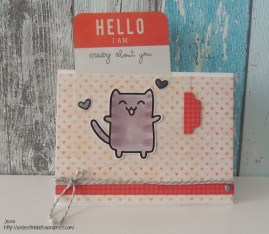 Pink_Samurai_Cat_Card_Project_Life_Svenja