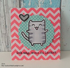 Pink_Samurai_Cat_Card_Stempelküche_Svenja