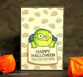 Useless Trinkets Igor Van Gore Happy Halloween Finally a day to feel normal halloween card