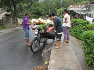 Berbelanja sayur