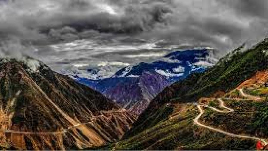 The Highway of Sichuan- Tibet (China)