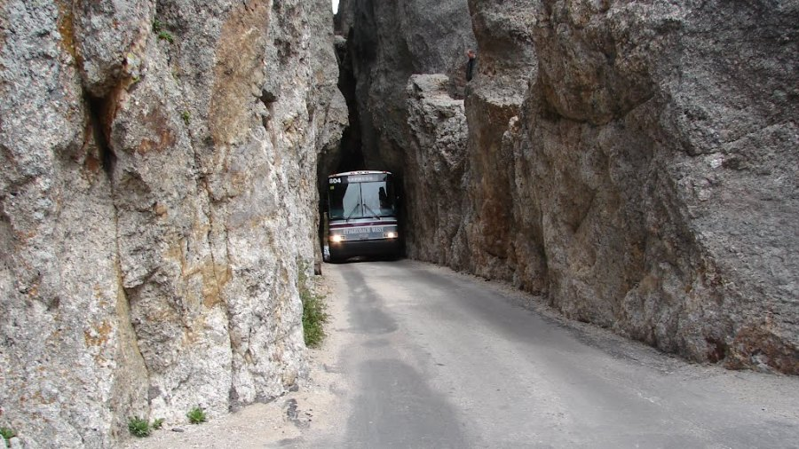 The tunnel road of Guoliang (China)