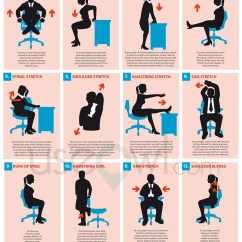 Office Chair Workouts For Abs Video Gaming Chairs 5 Healthy Habits To Combat The 9 Life Sfu Olc