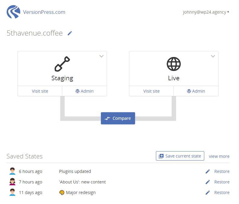 VersionPress.com enters beta · Blog · VersionPress