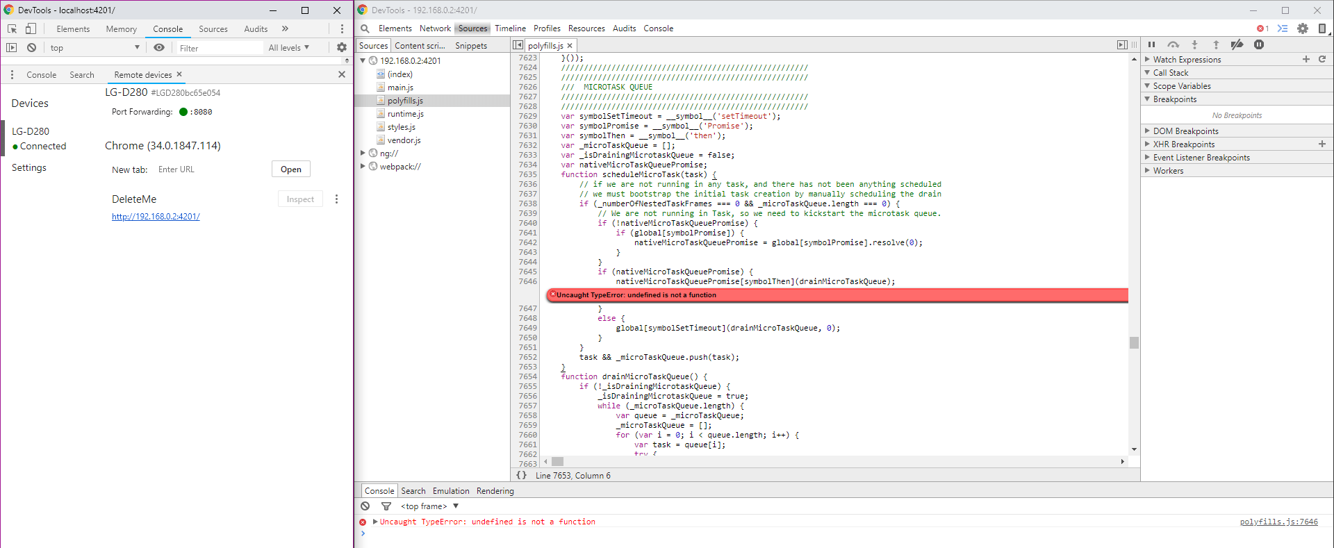 Chromebook Enterprise Enrollment Error
