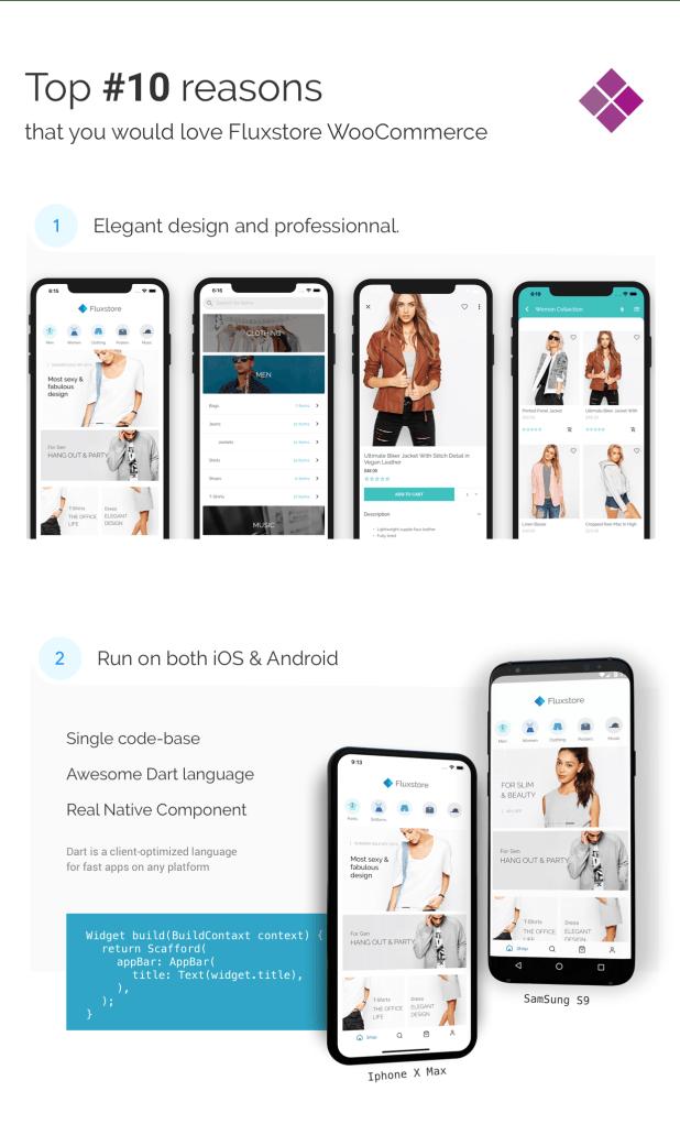 Fluxstore WooCommerce - Flutter E-commerce Full App - 1