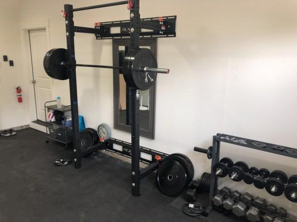 Garage gyms year of clean water