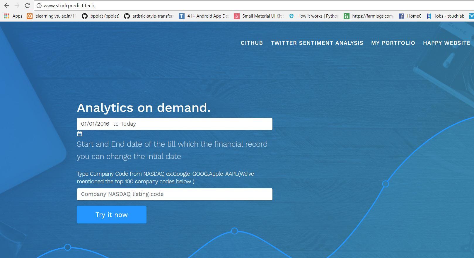 Stock Markets Websites