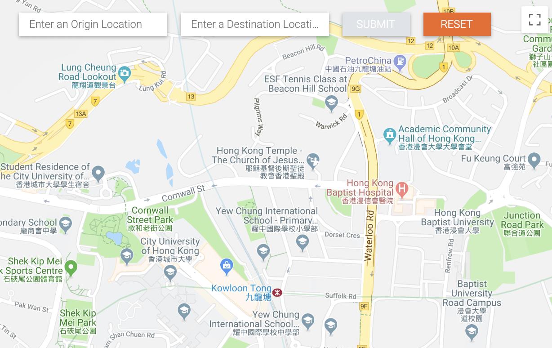 Google Map Hk Direction