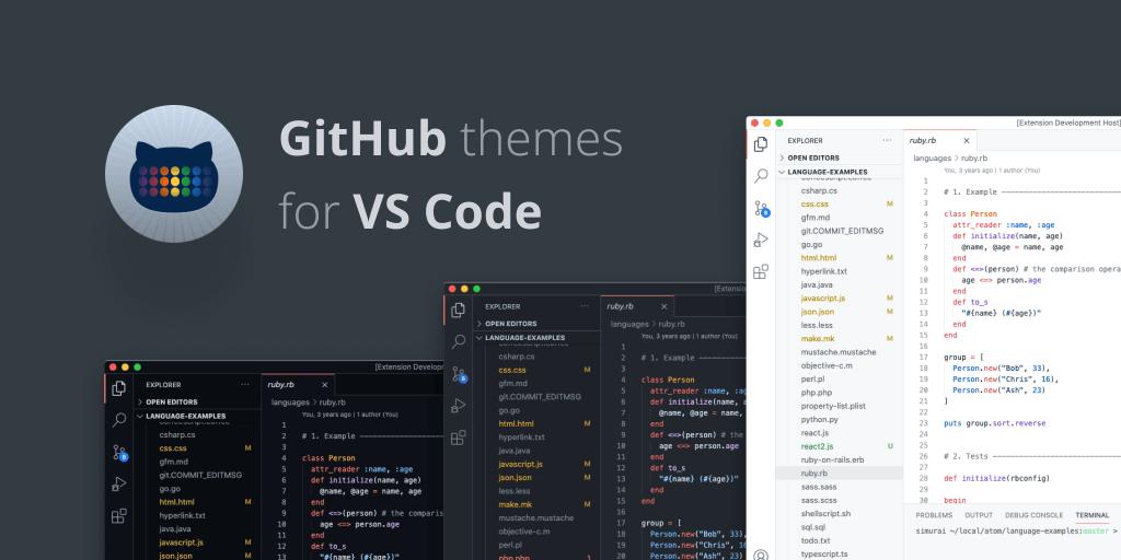 github-vs-code-themes