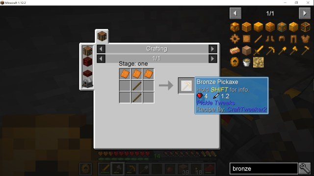 Copper plates for bronze tools · Issue #28 · DarkPacks/SevTech