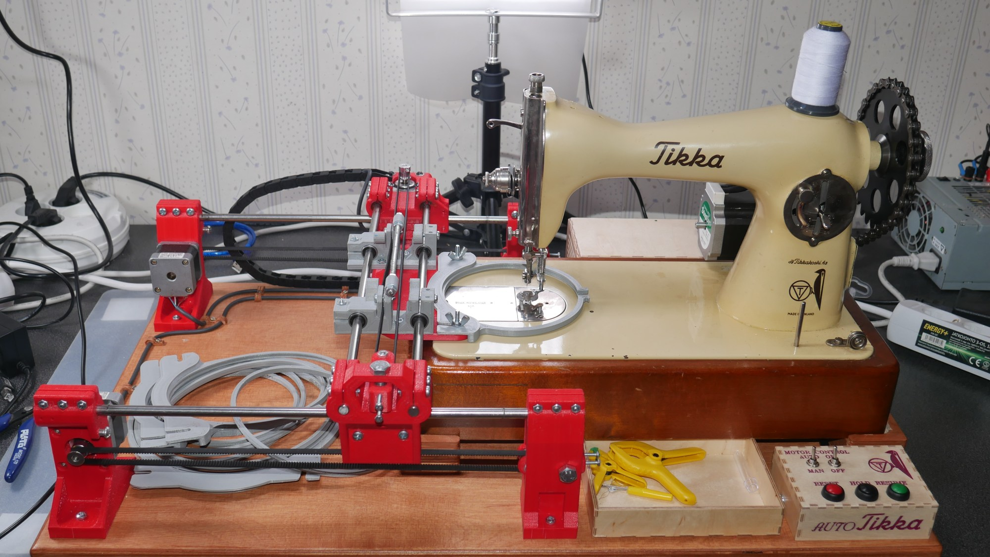 hight resolution of after all embroidery machine is nothing more than overgrown sewing machine