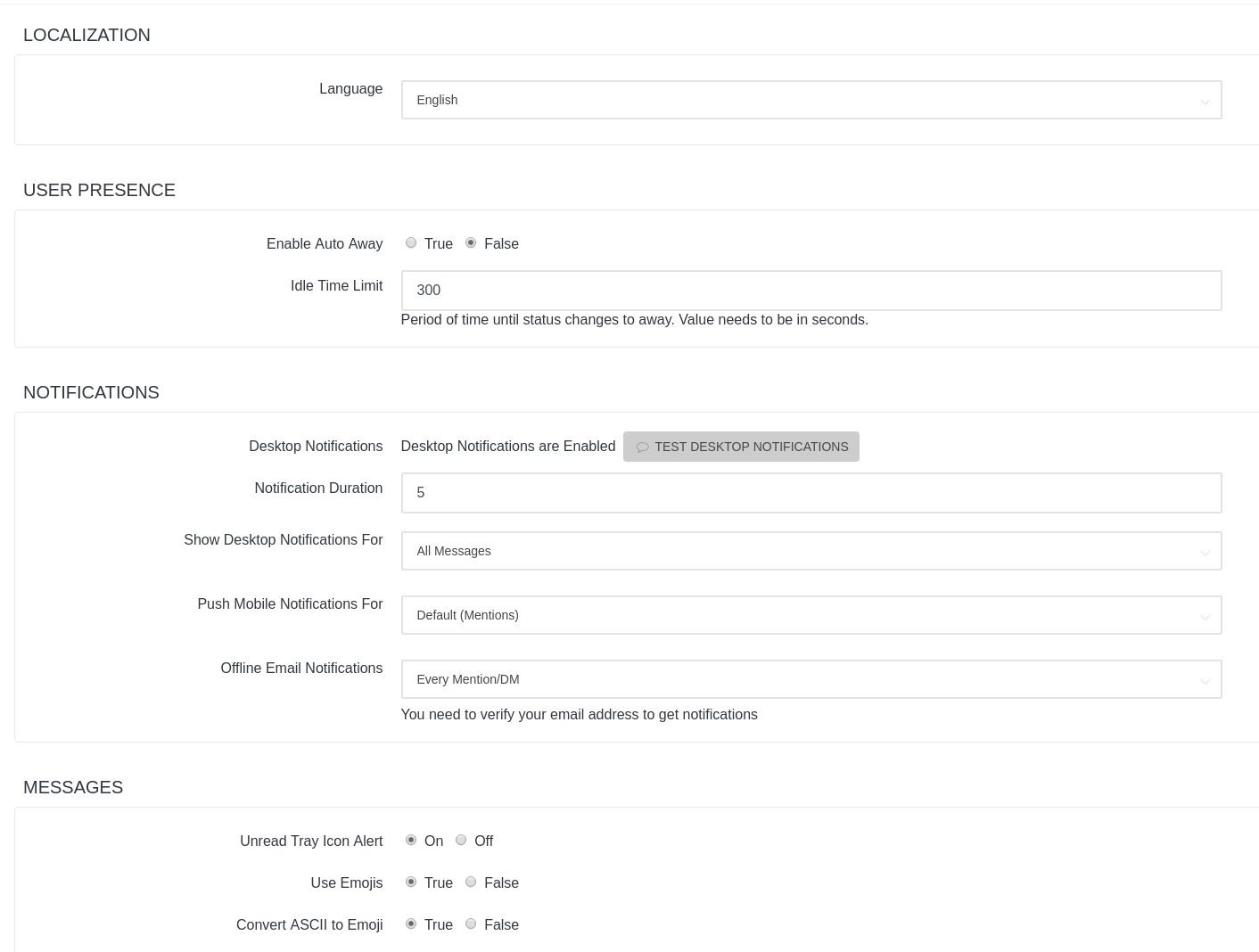 Desktop notifications not working (Ubuntu) · Issue #1053
