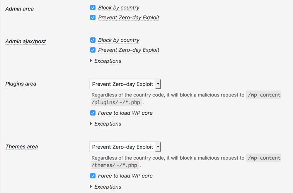 Prevent Zero-day Exploit on Back-end
