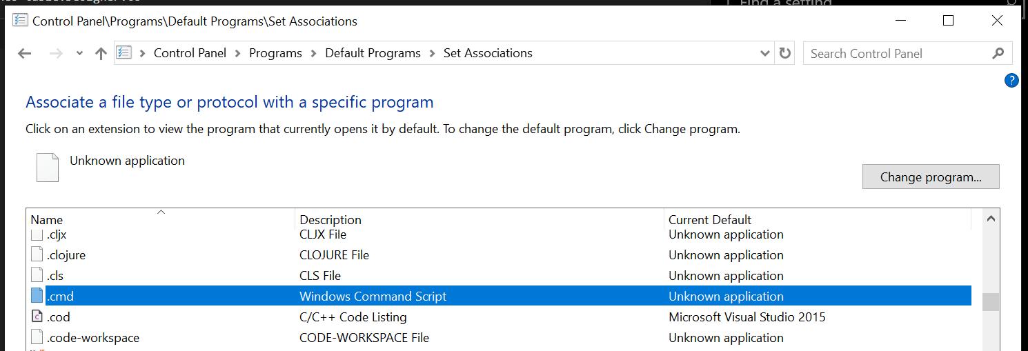 Open with external editor runs batch files on windows · Issue #2464 · desktop/desktop · GitHub