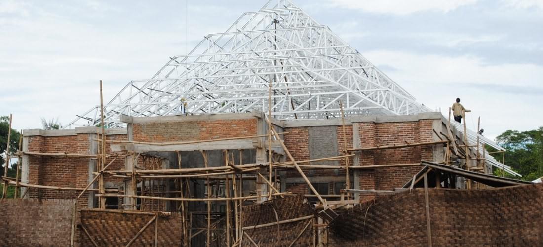 tukang baja ringan bekasi rangka atap 081319133263