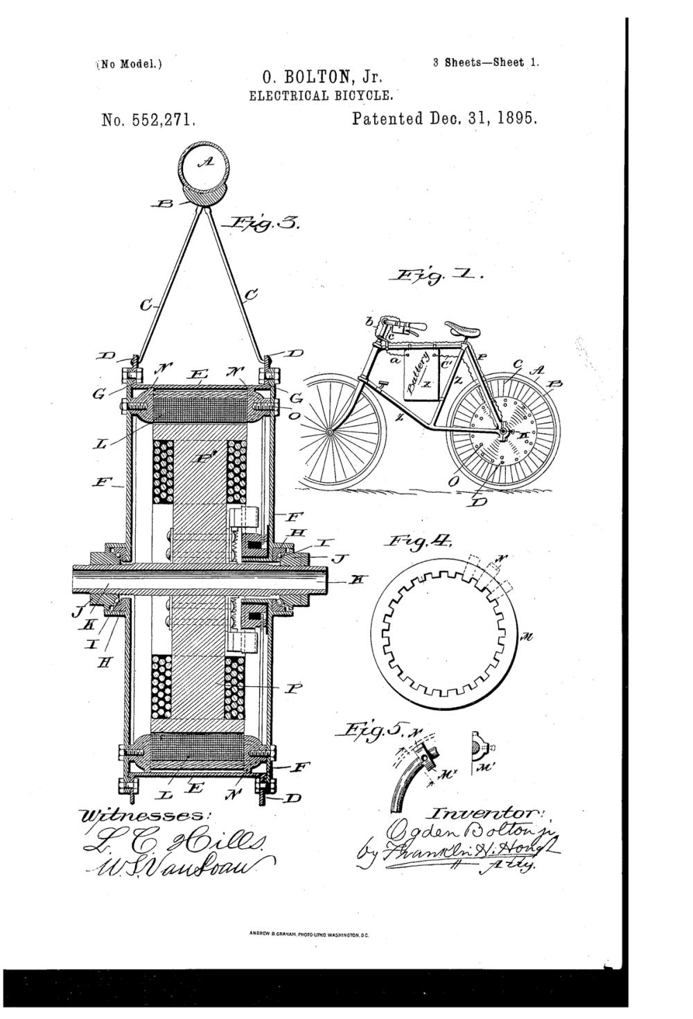 medium resolution of dec 31 1895 the e bike is born