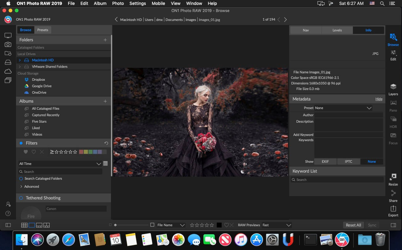 ON1 Photo RAW 2019 For Mac頂級照片調色工具 V2019.6 13.6.0.7353 - 修圖設計工具
