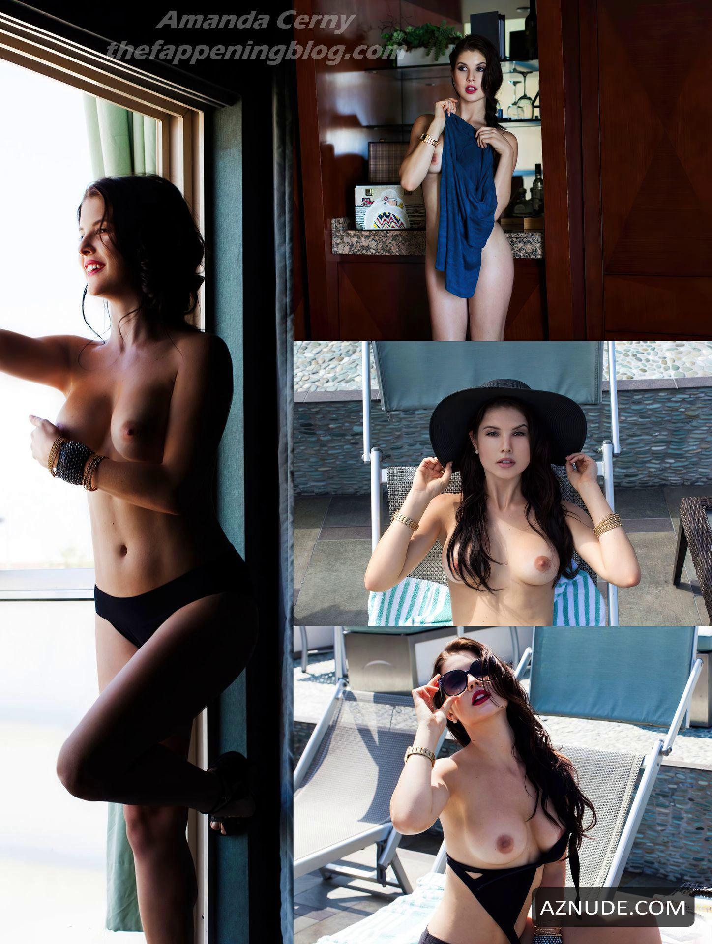 Amanda Cernys Boobs : amanda, cernys, boobs, Amanda, Cerny, Showed, Beautiful, Boobs, Photoshoot, Playboy, AZNude