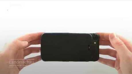 Студент из ФРГ разработал 'умный чехол' для смартфонов