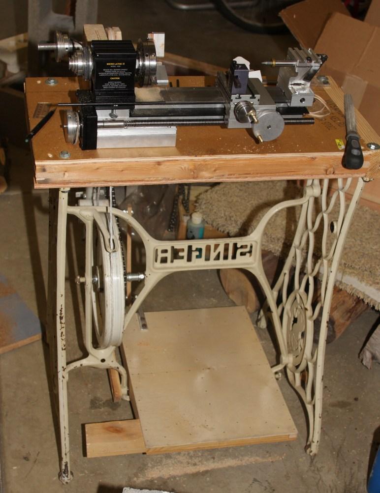 Treadle Metal Lathe