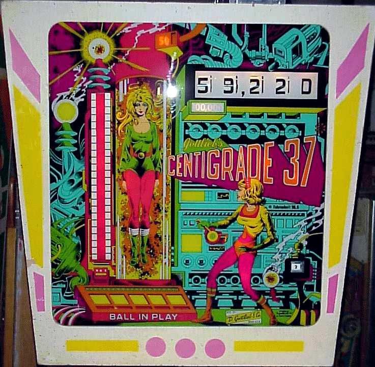 1977 Gottlieb Centigrade 37
