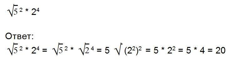 Диаграммаға арифметикалық тамырлар салу мысалдары