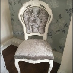 French Louis Chair Job Lot Folding Wooden Chairs Crushed Velvet Village