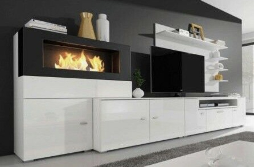 Bioethanol Fireplace From Living Room Unit Whitechapel Village