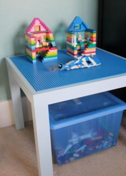 Super Simple DIY Lego Table Ideas