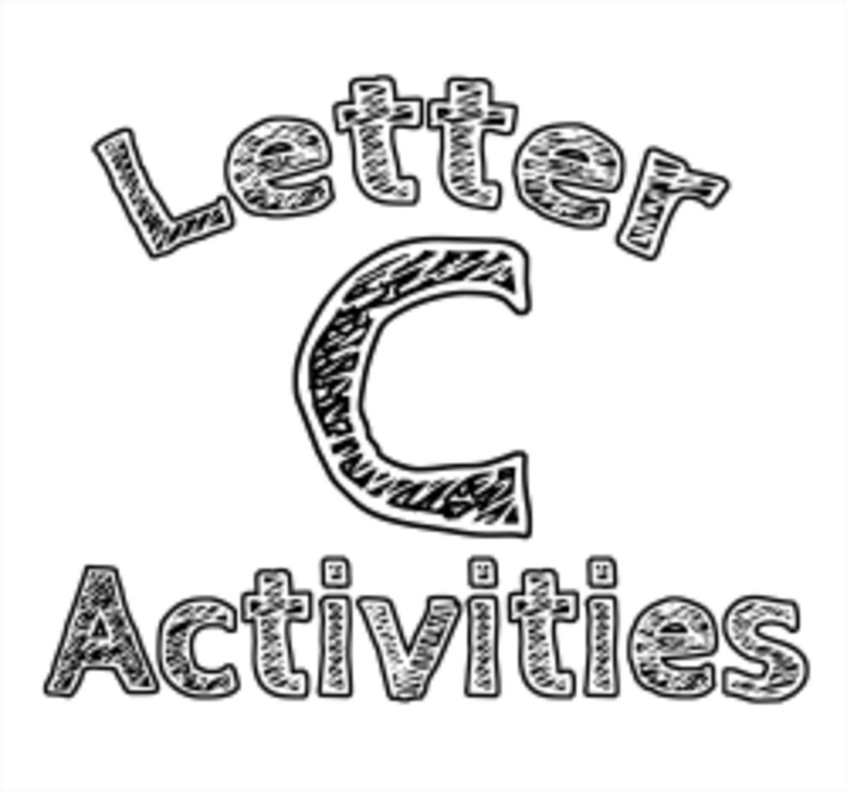 Letter C: Alphabet Activities for Kids