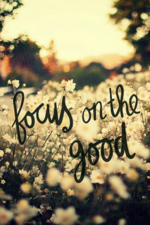 Focus on the good // Powerful Positivity