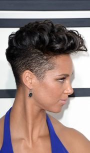 sexy short punk hairstyles