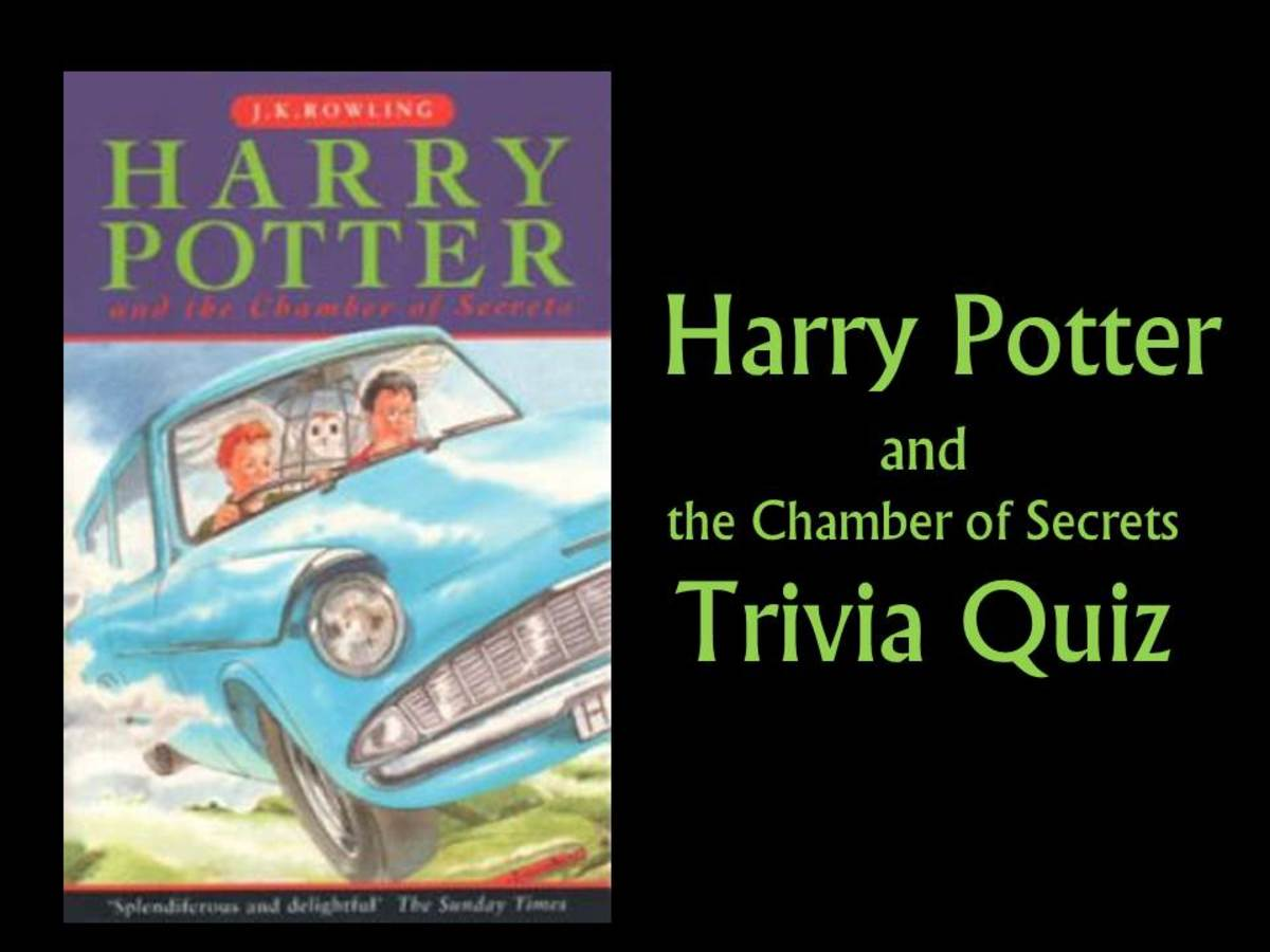 Harry Potter And The Chamber Of Secrets Quiz