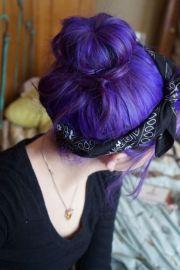 diy hair 10 purple color