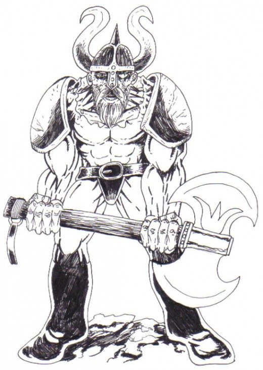 Fantasy Art Drawing: How To Draw A Warrior
