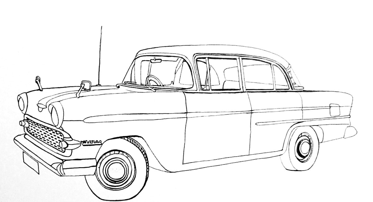 How to draw cars.