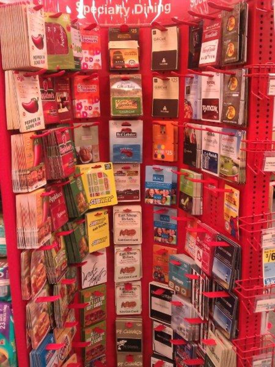 A List Of Gift Cards Available At CVS