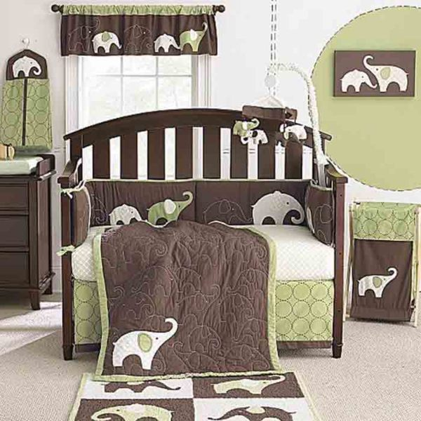 Baby Room Themes Boy Elephant Nursery