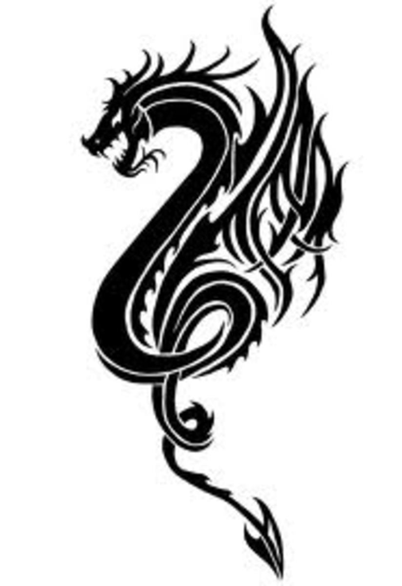 Dragon Tattoo Ideas, History, and Meaning: Chinese and