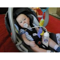 Hands Free Bottle Feeder. Baby Bottle Holder Prop Pillow ...