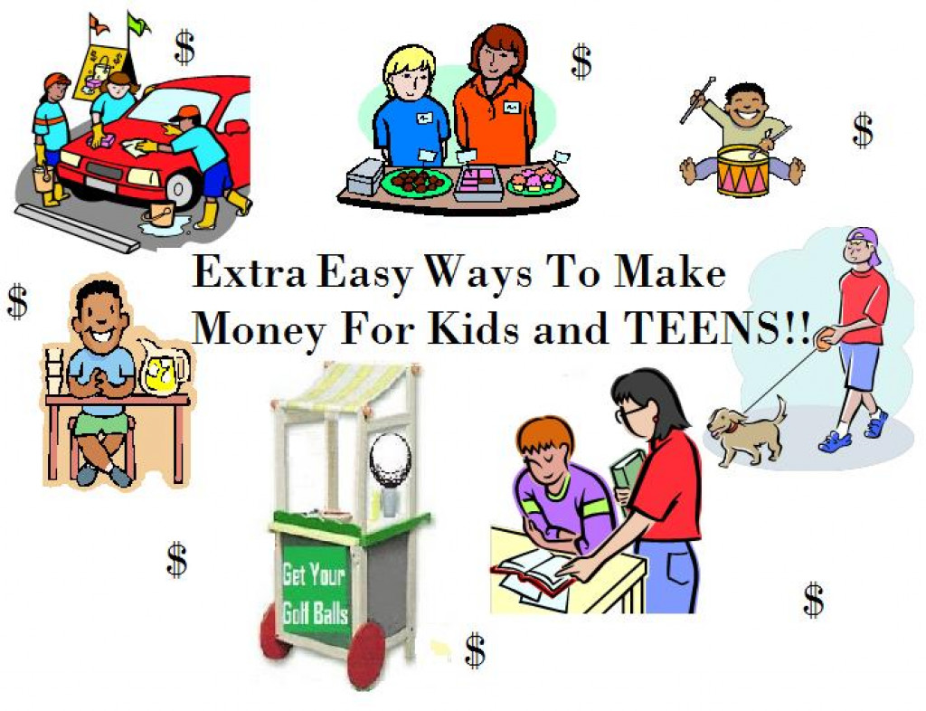 How To Earn Extra Money Fast For Kids