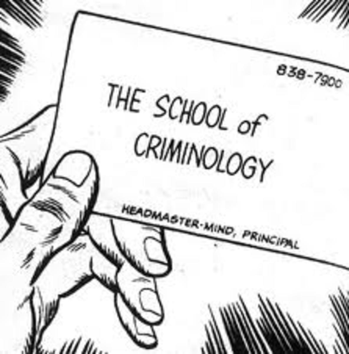 Schools of Criminology