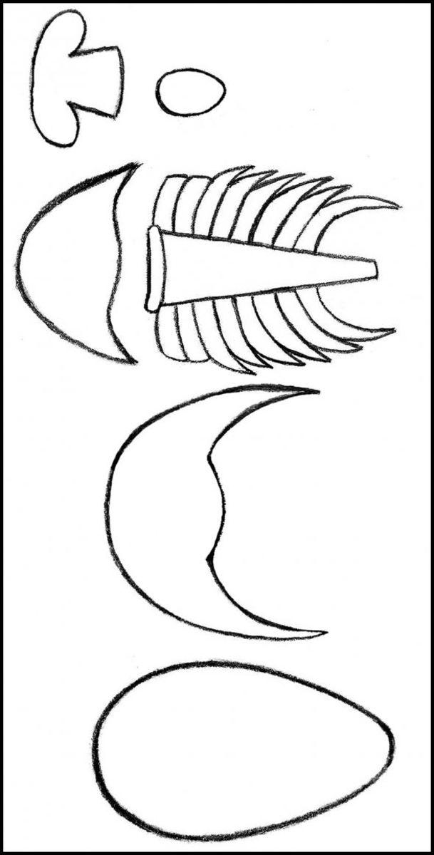 How to Make a Fondant Trilobite