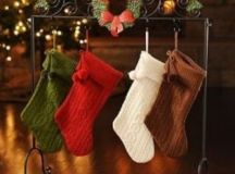Stocking Holders - No Fireplace Mantel? No Problem!
