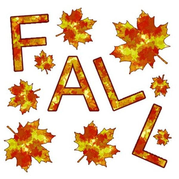 free fall clip art - autumn