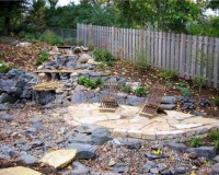 How to Build a Loose Material Patio | Dengarden
