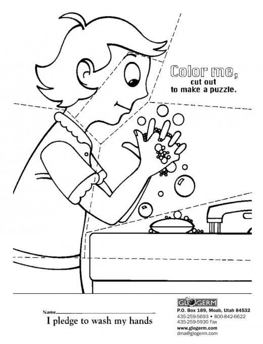 All Worksheets » Germs Worksheets For Kindergarten