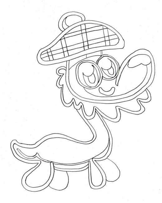 Free Coloring Pages Of Snook