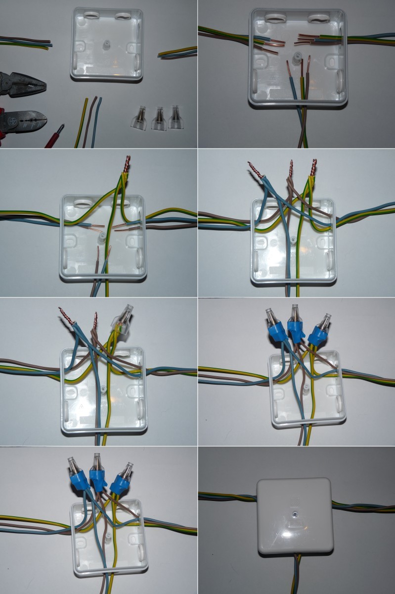 Push The White Wires Into The Box And Screw The Switch In Placeturn